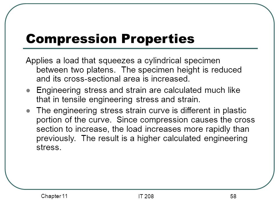Compression Properties