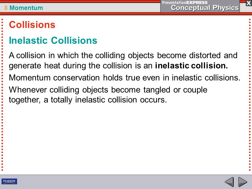 Collisions Inelastic Collisions
