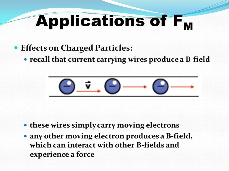 Applications of FM Effects on Charged Particles: