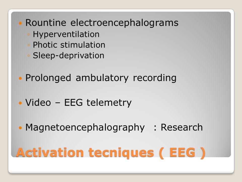 Activation tecniques ( EEG )