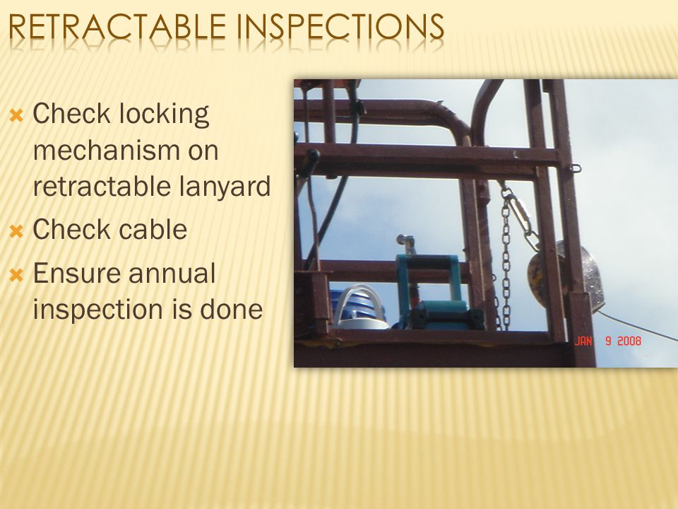 Retractable Inspections