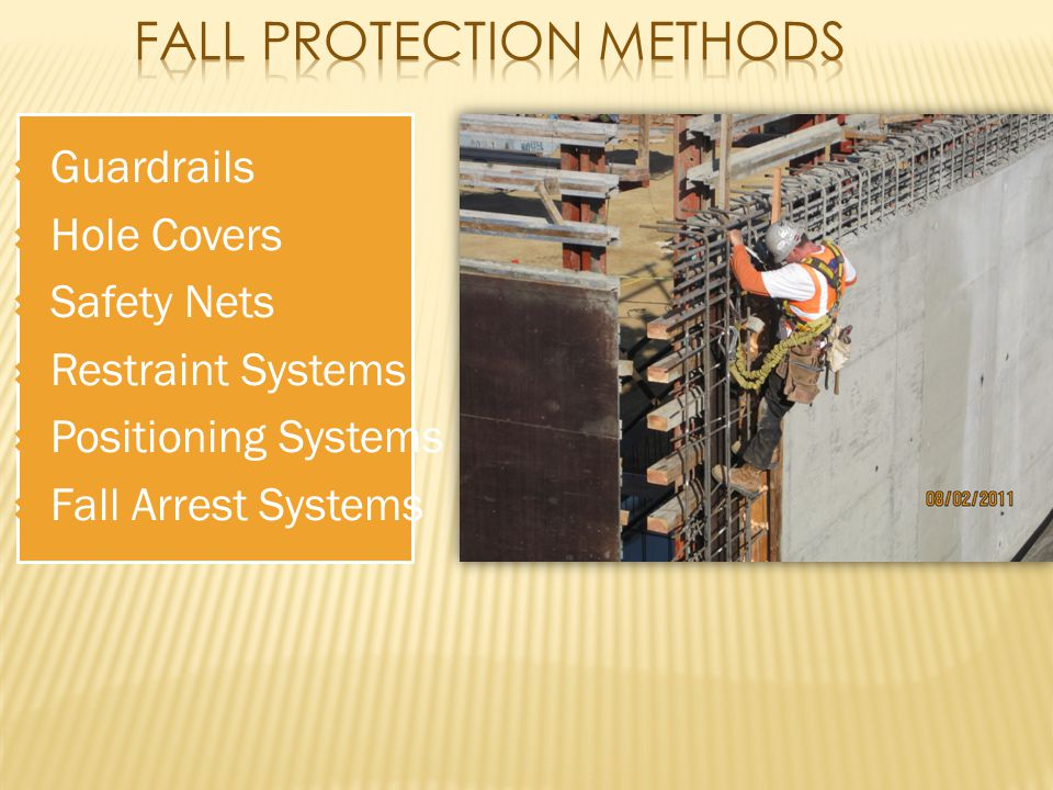 Fall Protection Methods