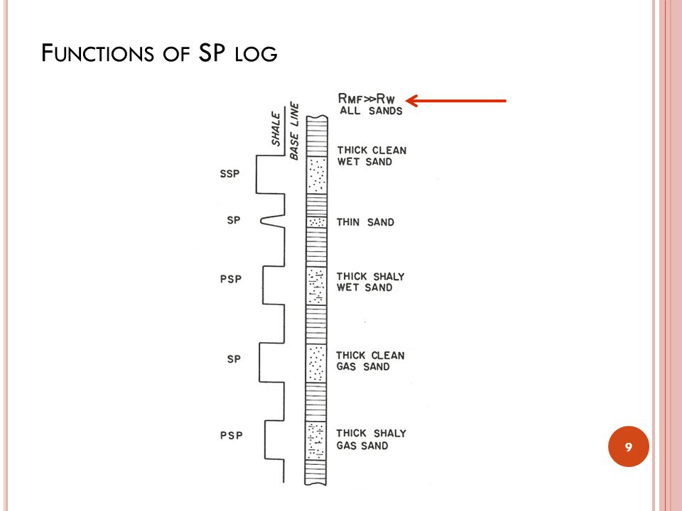 Functions of SP log