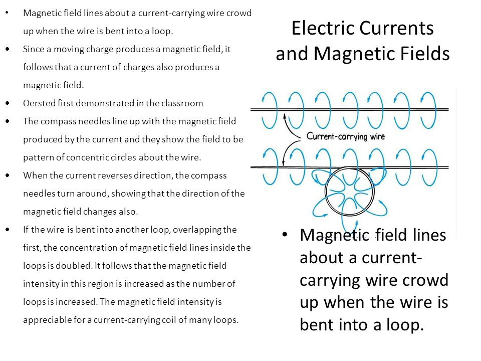 Electric Currents and Magnetic Fields