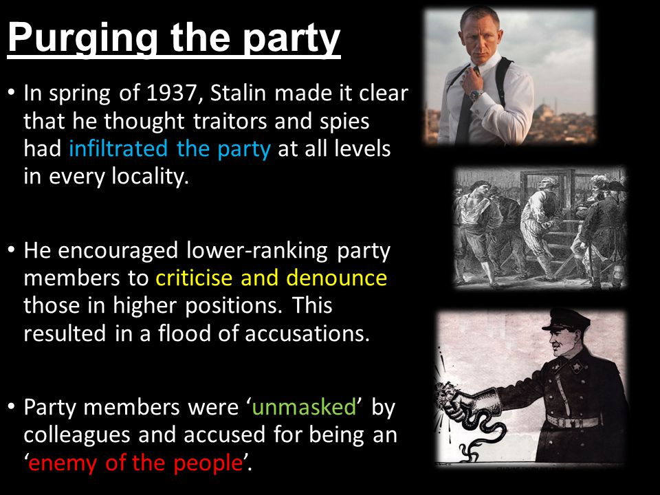 Purging the party