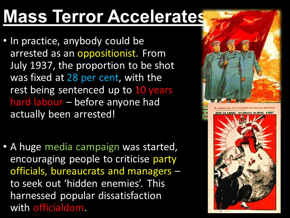 Mass Terror Accelerates