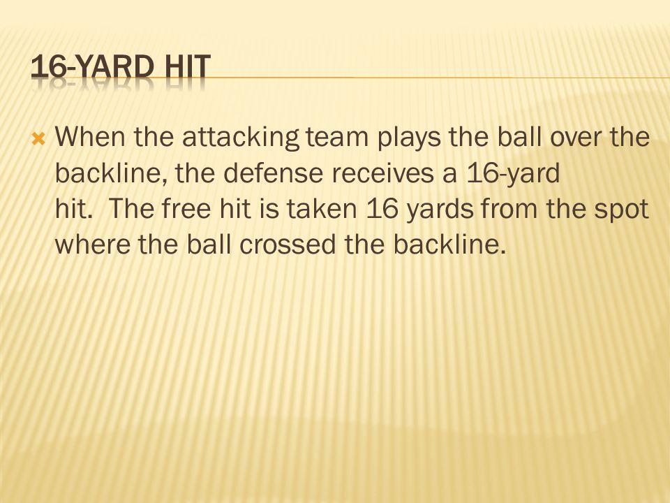 16-Yard Hit