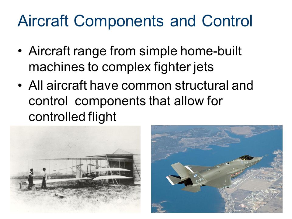 Aircraft Components and Control