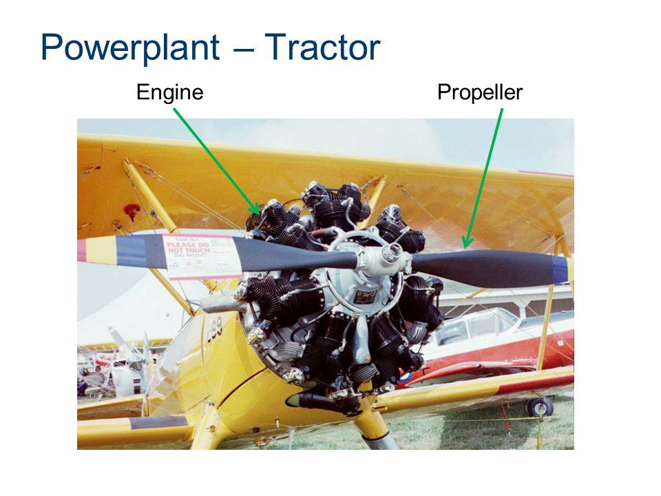 Powerplant – Tractor Engine Propeller