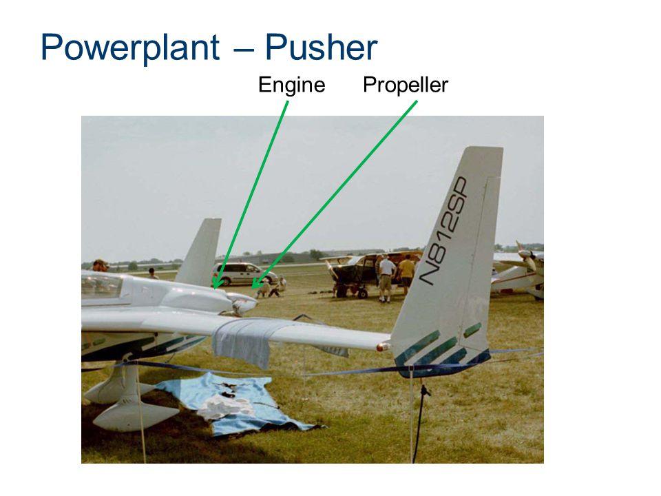 Powerplant – Pusher Engine Propeller