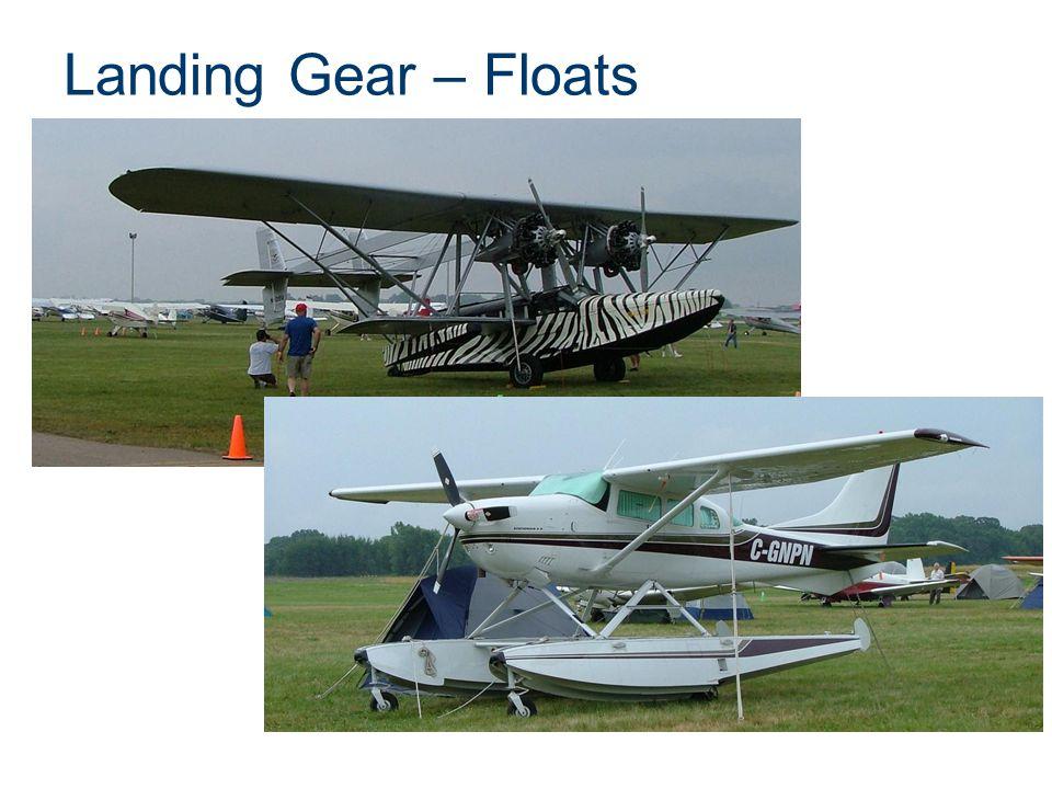 Landing Gear – Floats Presentation Name Course Name