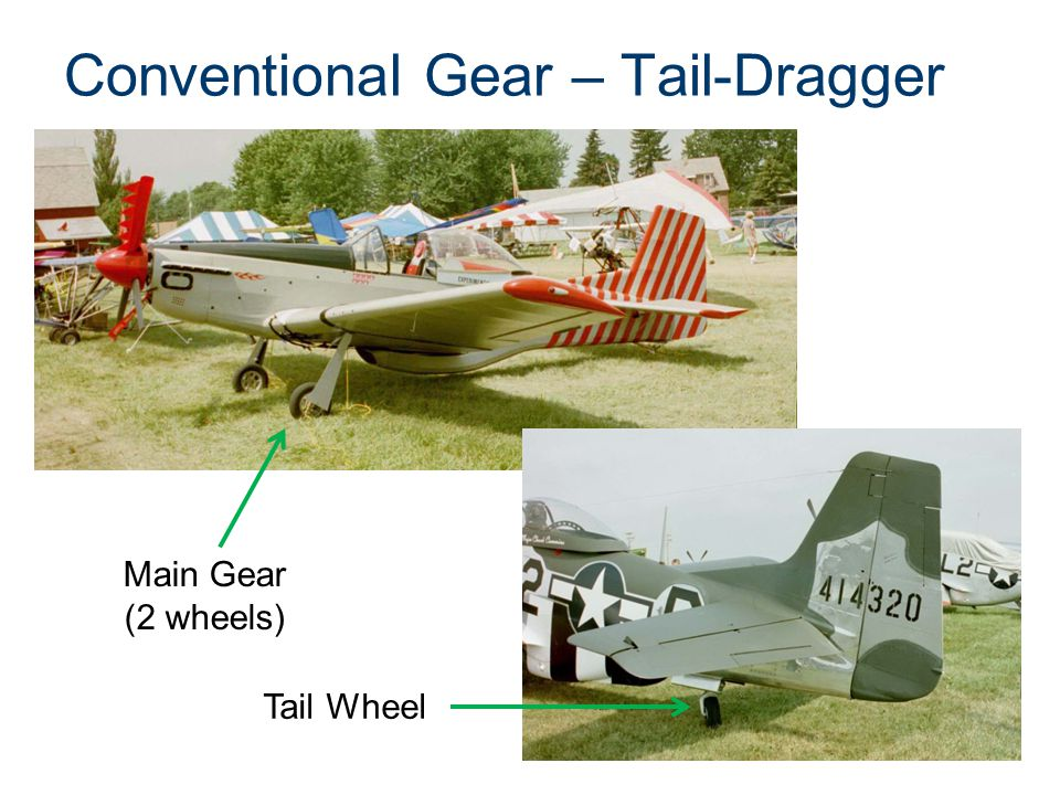 Conventional Gear – Tail-Dragger