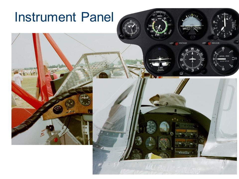 Instrument Panel Presentation Name Course Name