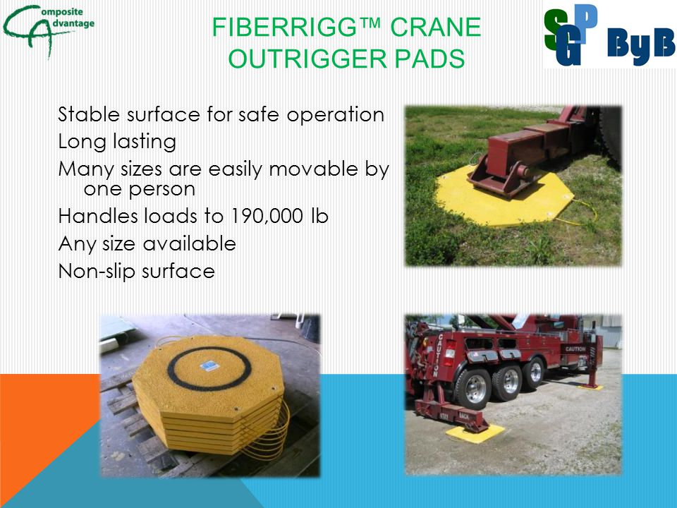 FiberRigg™ Crane Outrigger Pads