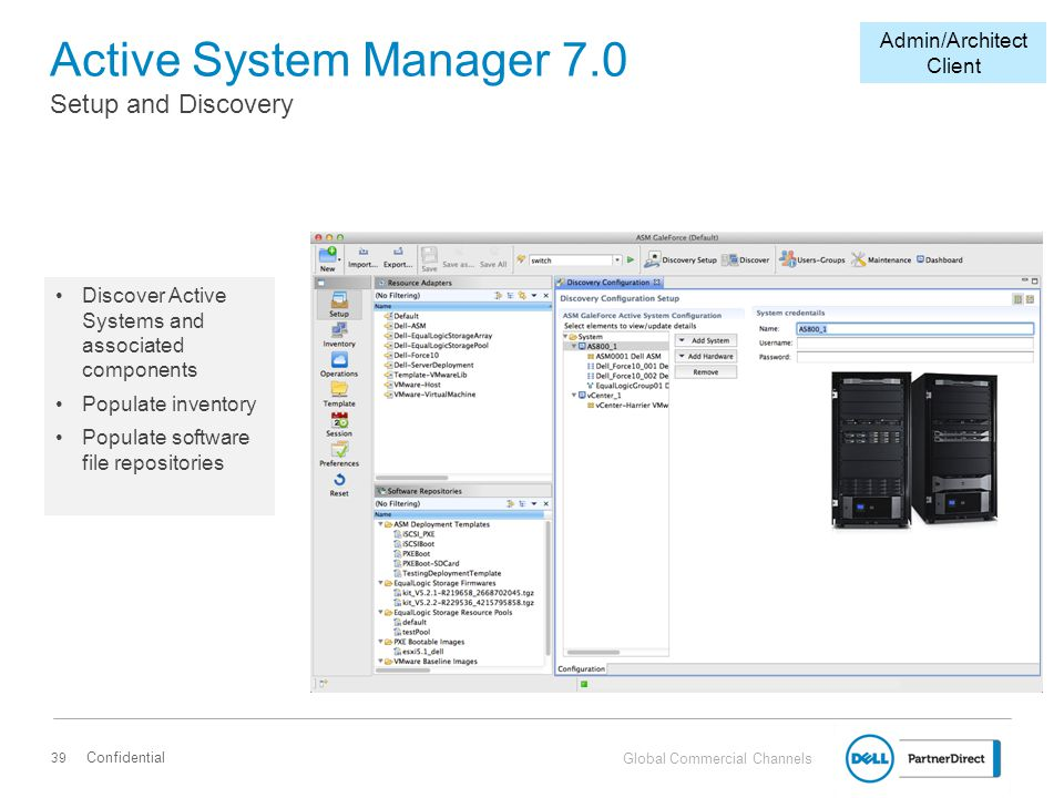 Active System Manager 7.0 Setup and Discovery