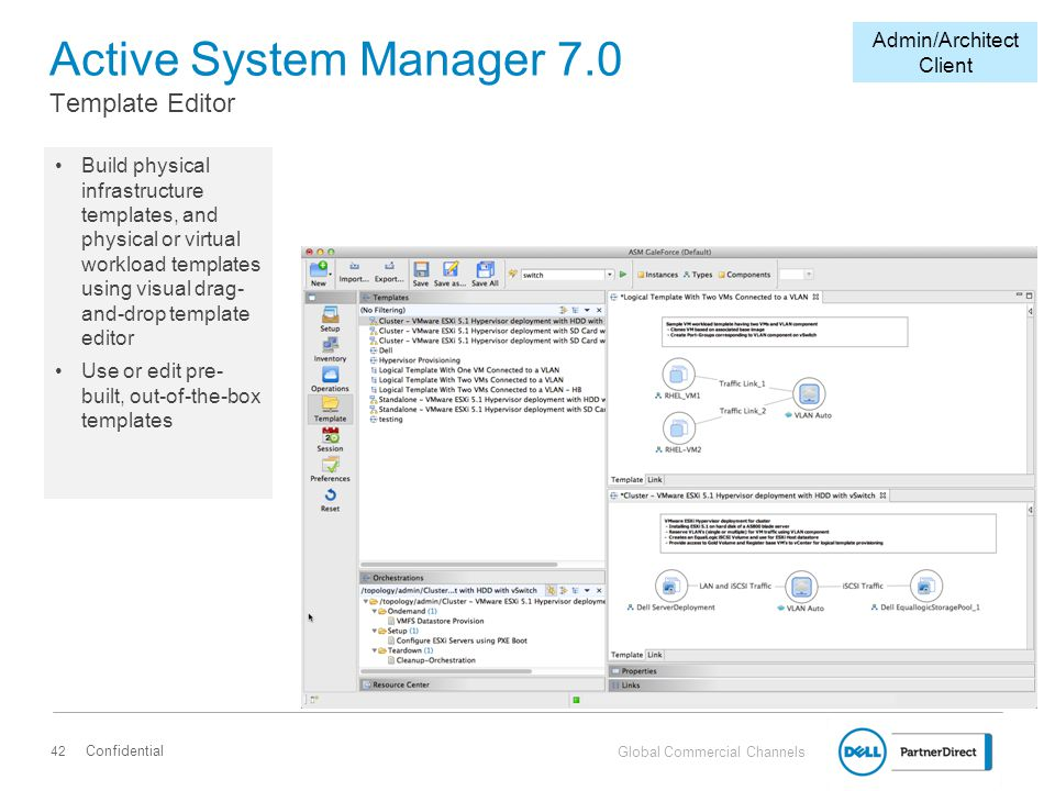 Active System Manager 7.0 Template Editor