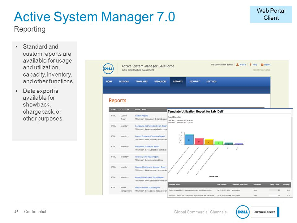 Active System Manager 7.0 Reporting