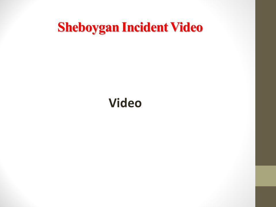 Sheboygan Incident Video