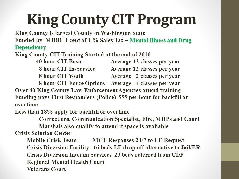 King County CIT Program