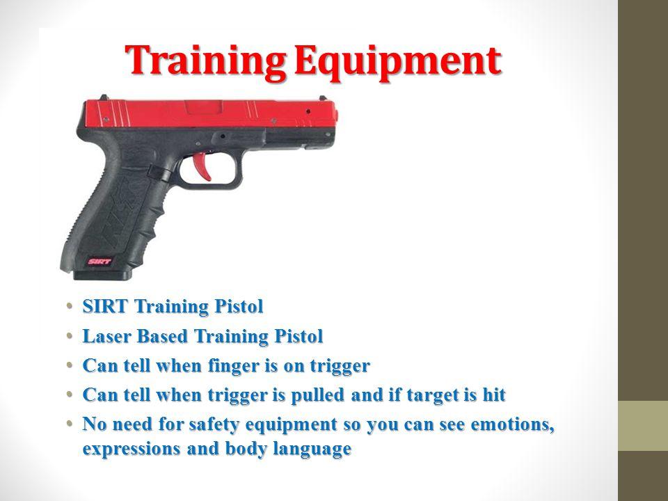 Training Equipment SIRT Training Pistol Laser Based Training Pistol
