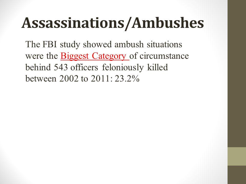 Assassinations/Ambushes