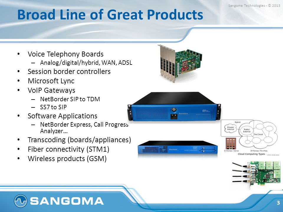 Broad Line of Great Products