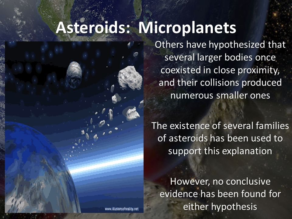 Asteroids: Microplanets