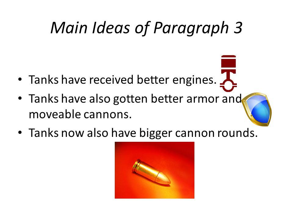 Main Ideas of Paragraph 3