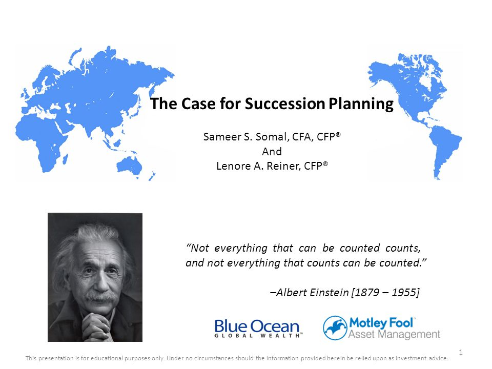 The Case for Succession Planning