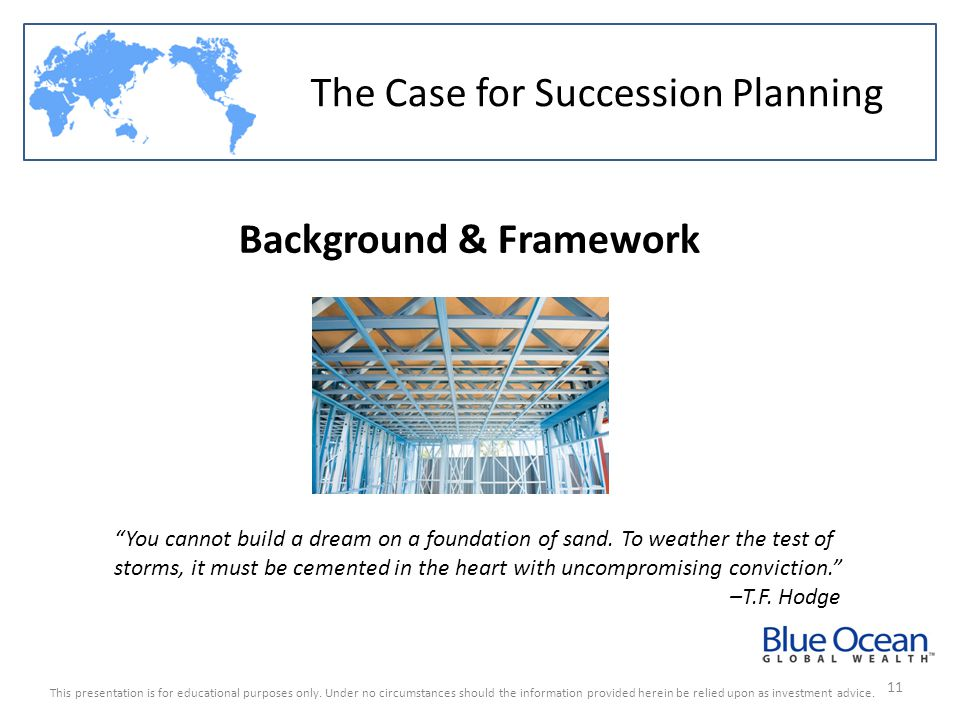 Background & Framework