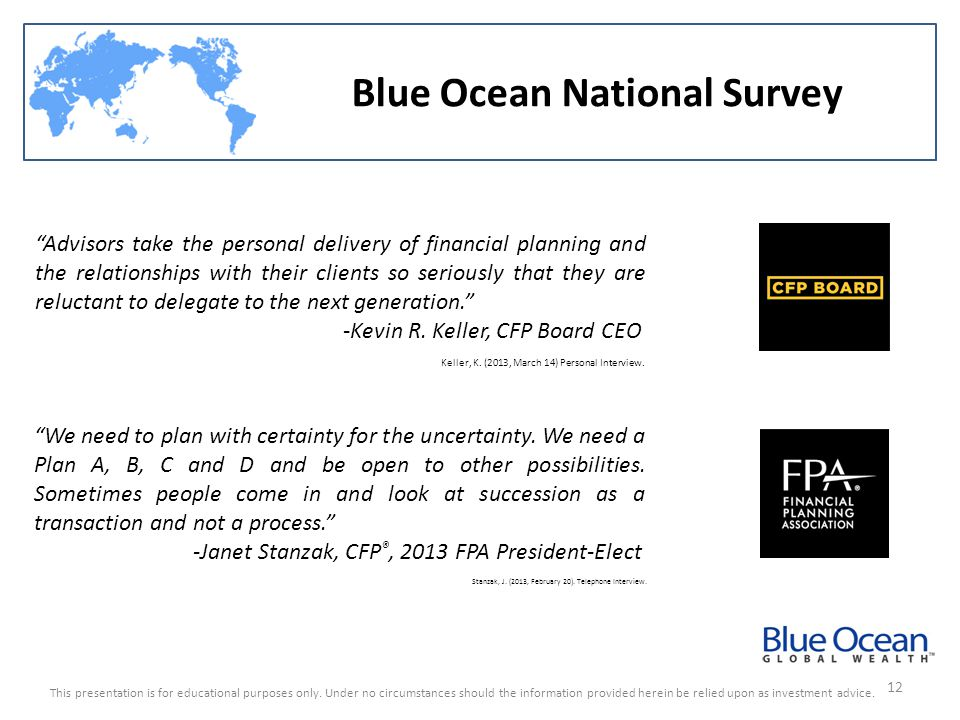 Blue Ocean National Survey