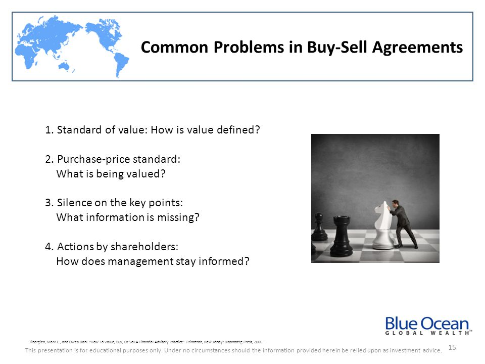 Common Problems in Buy-Sell Agreements