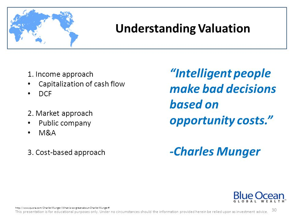 Understanding Valuation