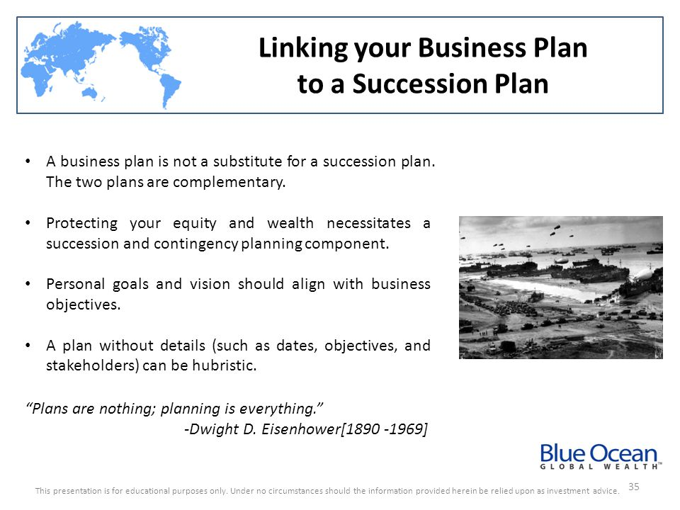 Linking your Business Plan