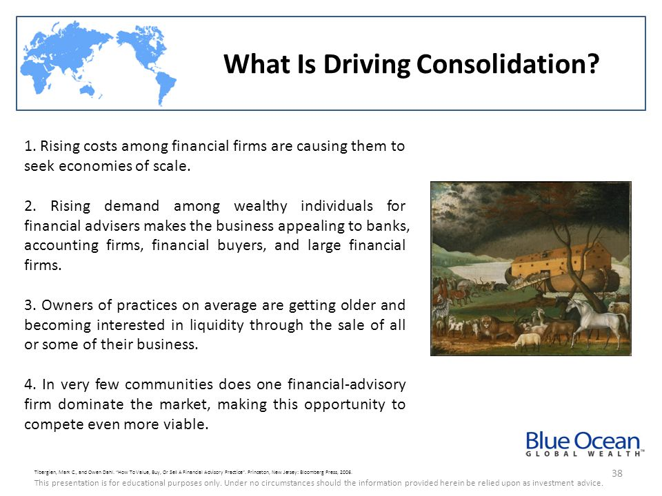 What Is Driving Consolidation