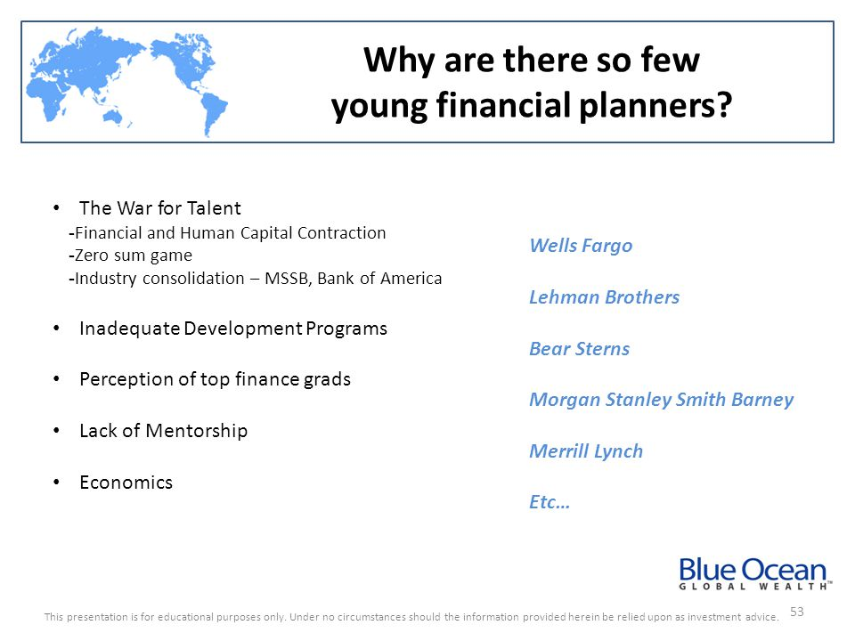 young financial planners