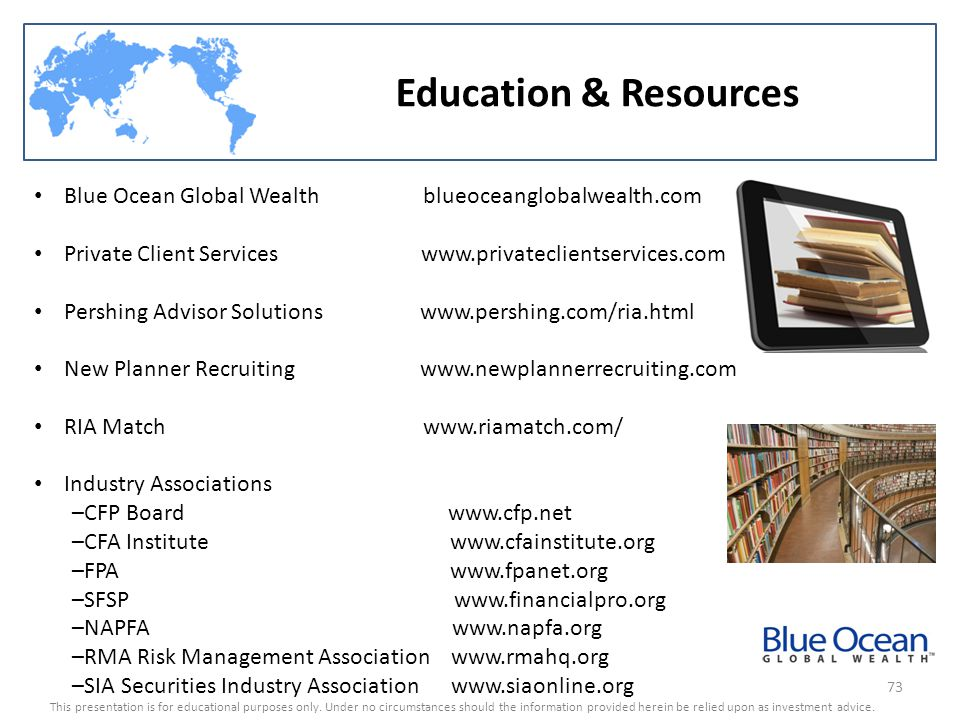 Education & Resources Blue Ocean Global Wealth blueoceanglobalwealth.com.