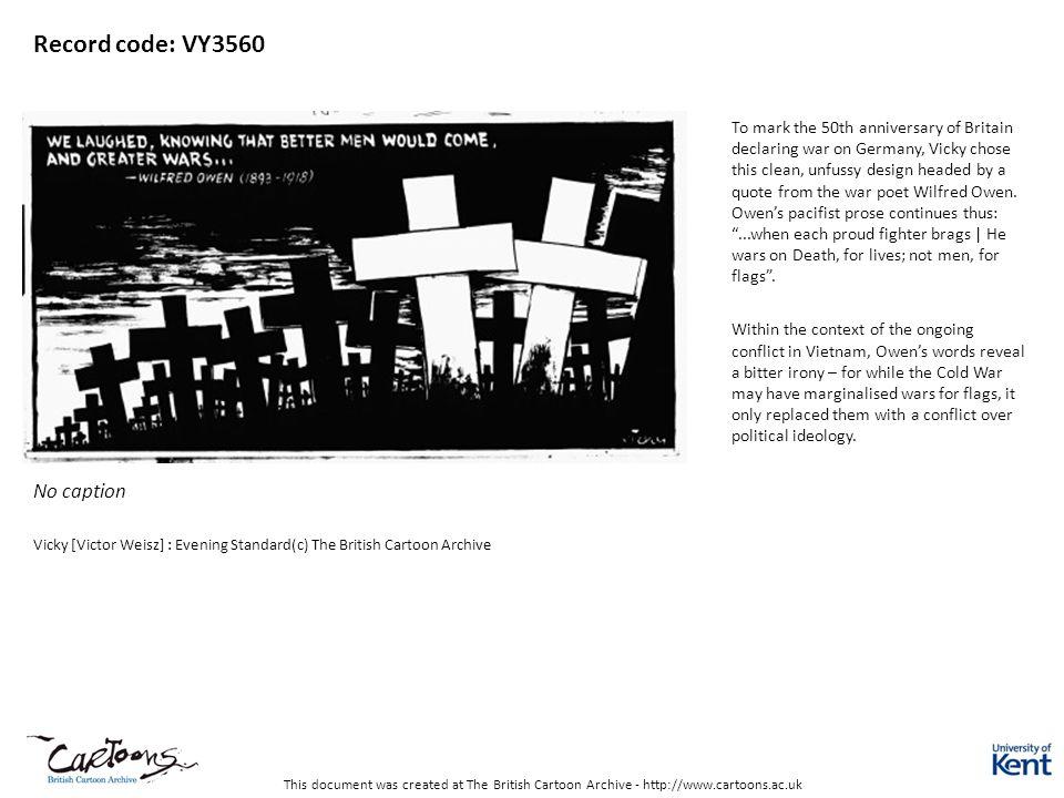 Record code: VY3560 No caption