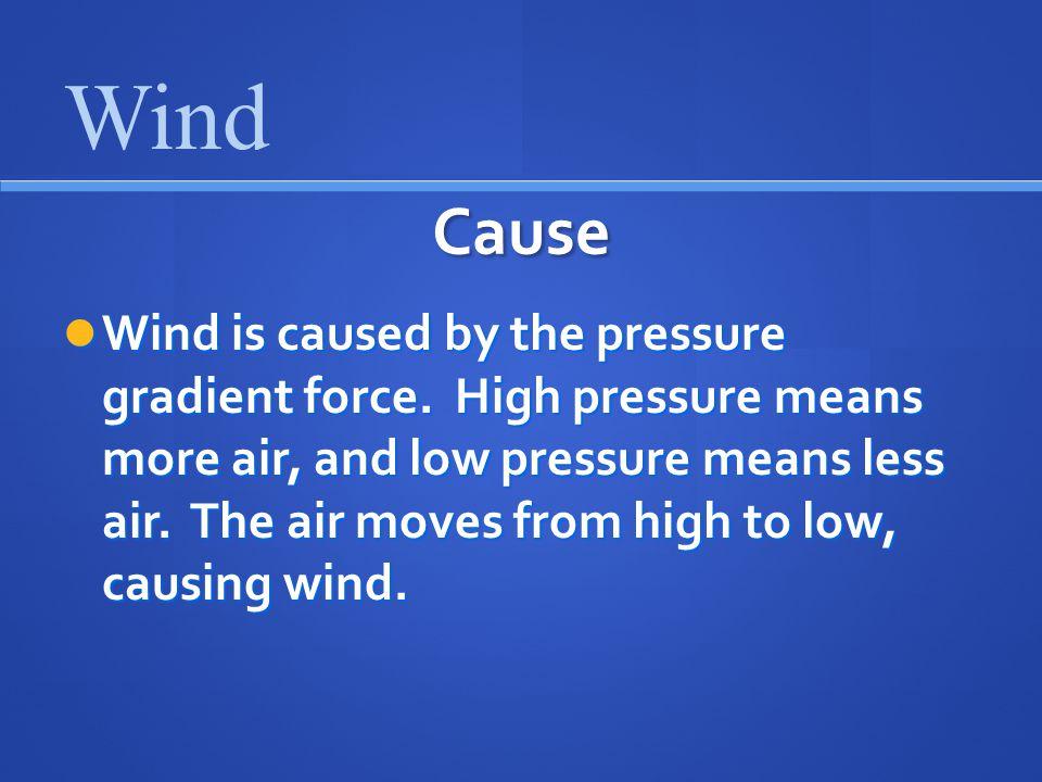 Wind Cause.