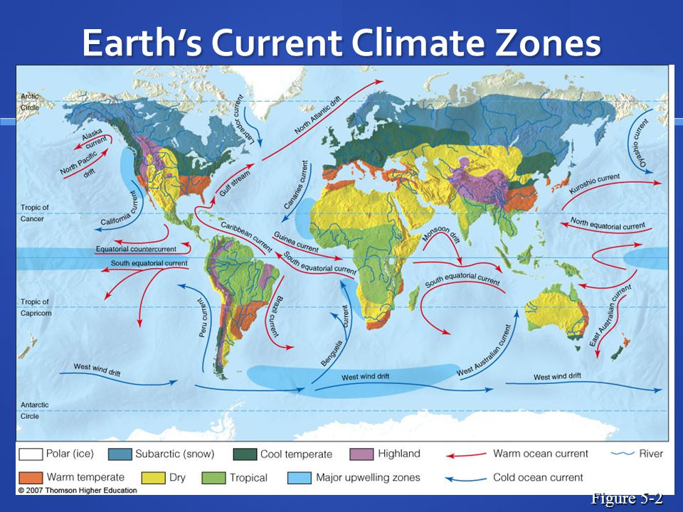 Earth's Current Climate Zones