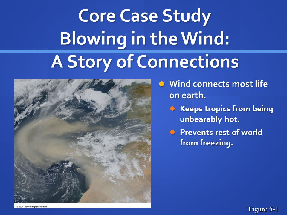 Core Case Study Blowing in the Wind: A Story of Connections