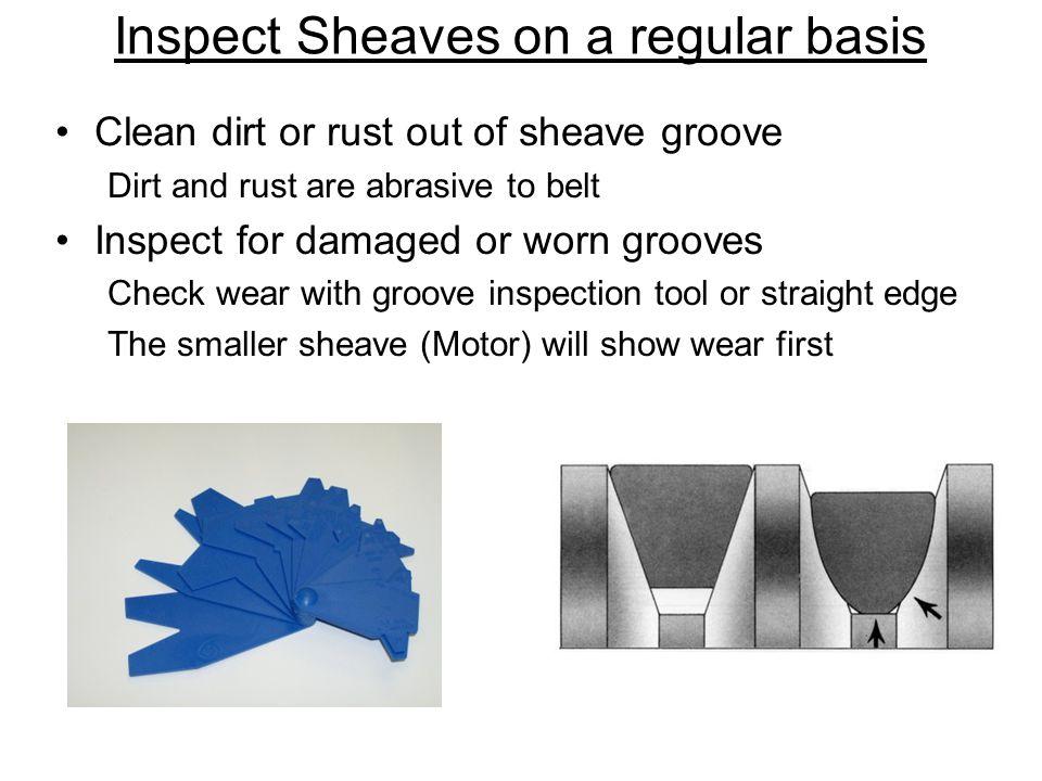 Inspect Sheaves on a regular basis