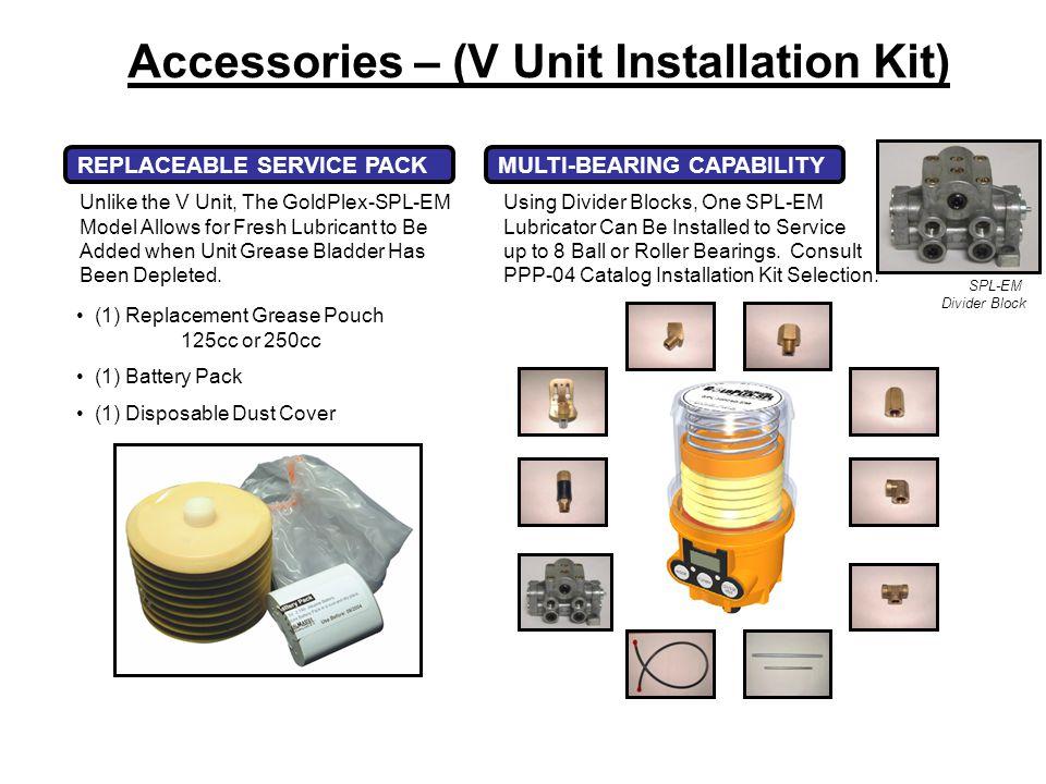 Accessories – (V Unit Installation Kit)