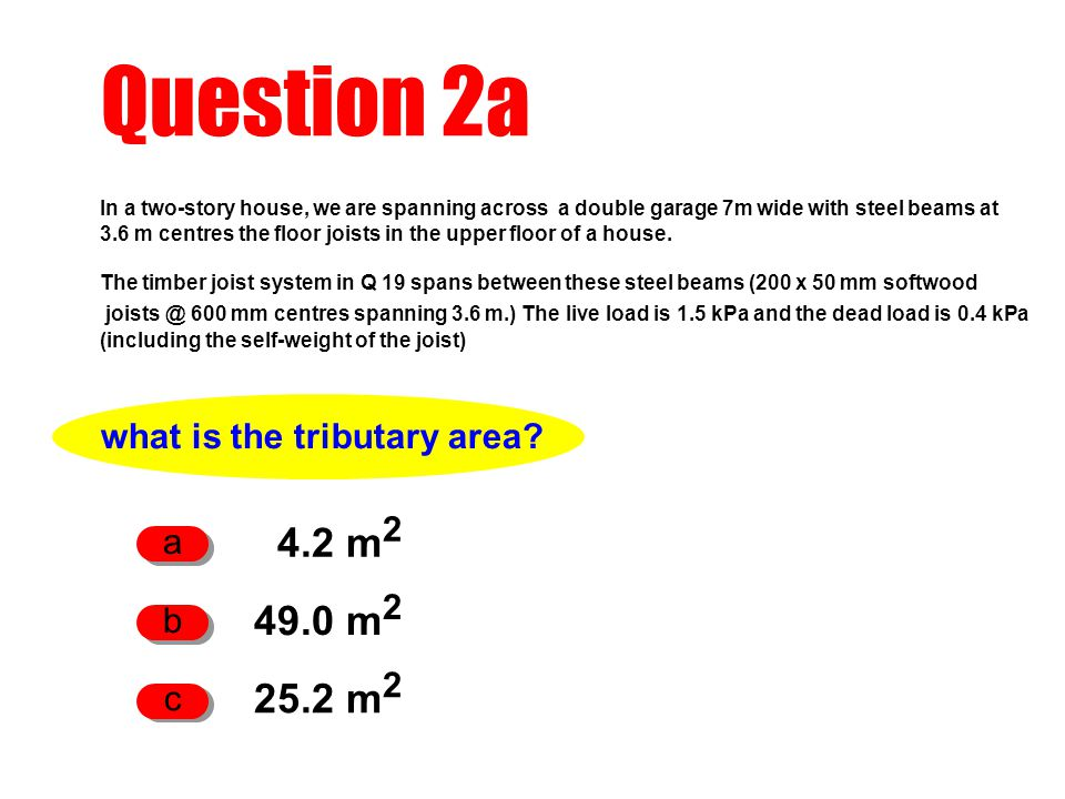what is the tributary area
