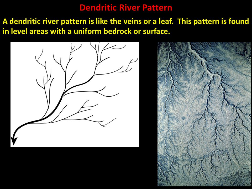 Dendritic River Pattern