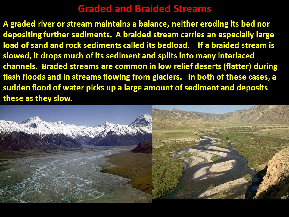 Graded and Braided Streams