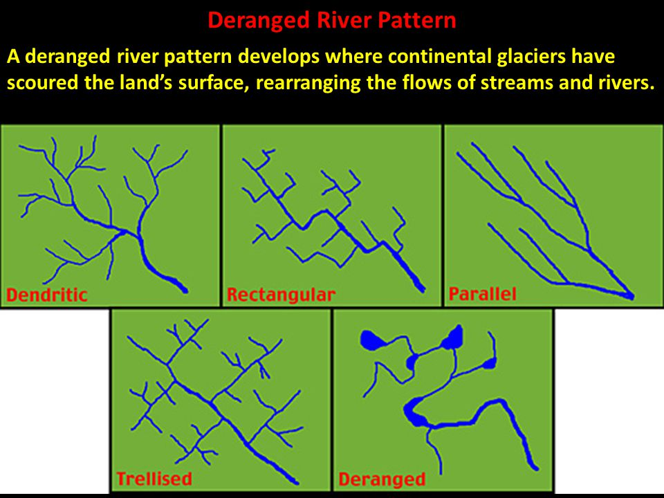 Deranged River Pattern