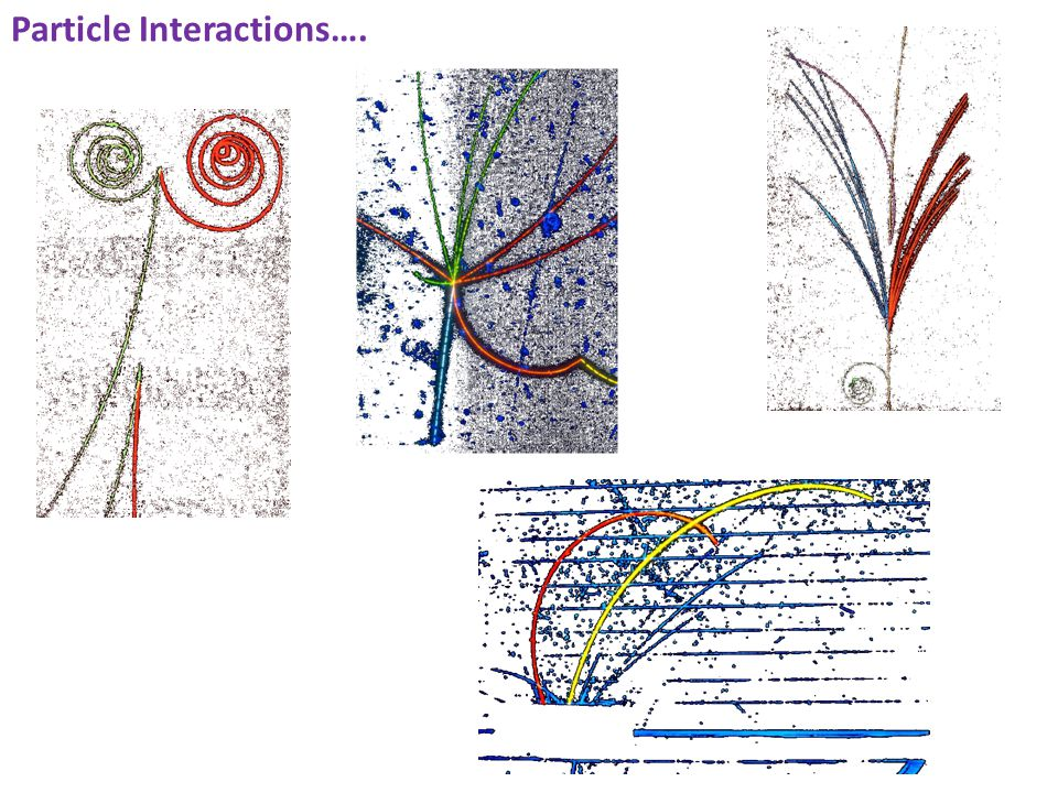 Particle Interactions….