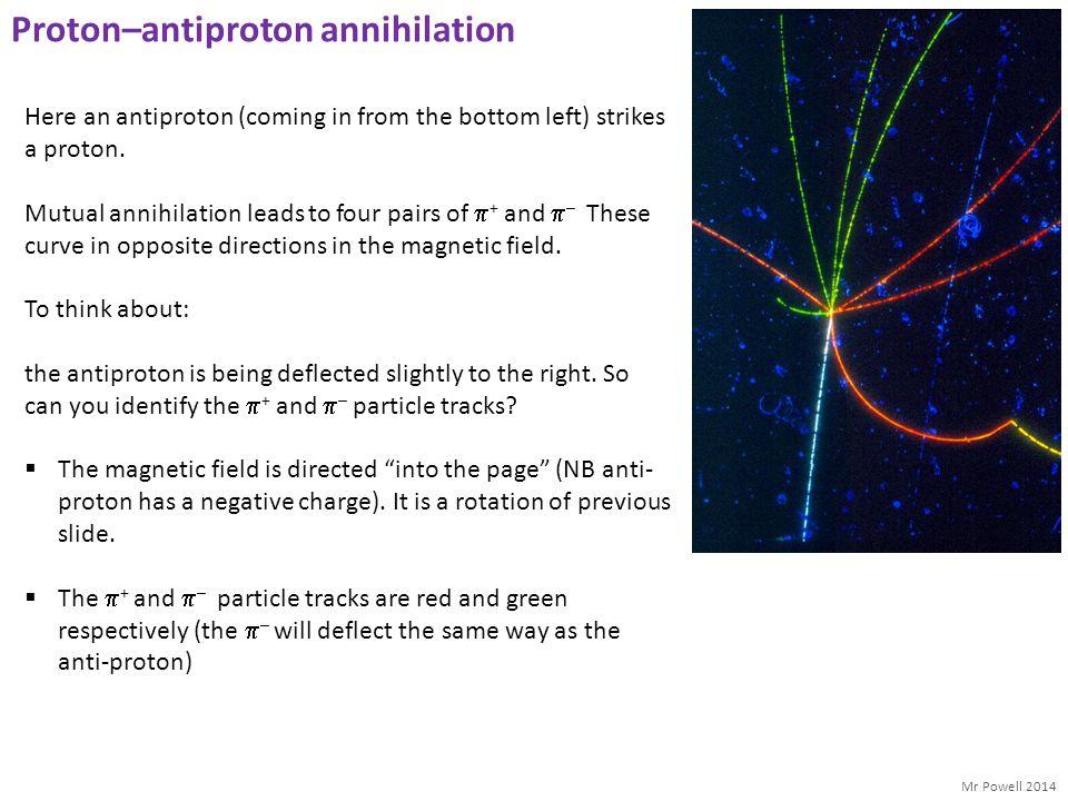 Proton–antiproton annihilation