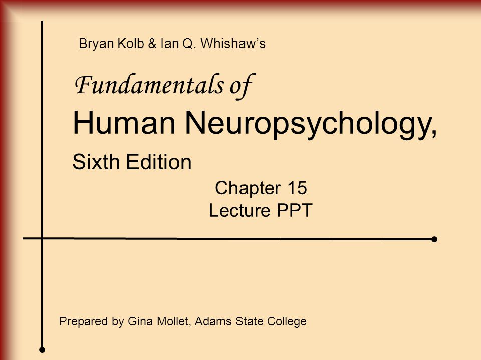 Human Neuropsychology,